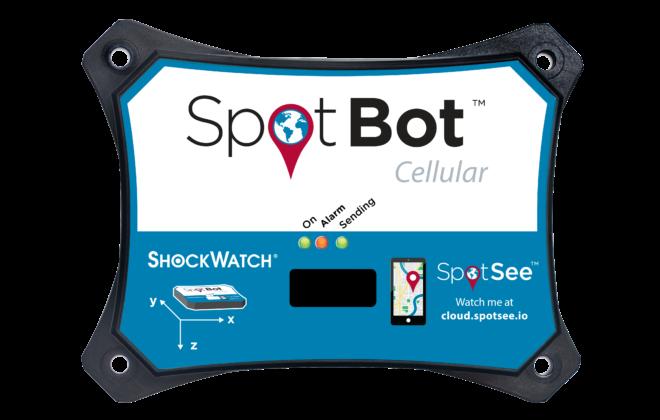 Enregistreur de choc SpotBot