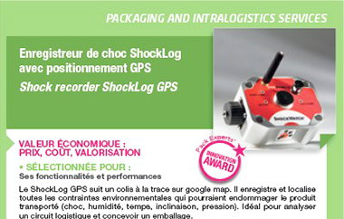 image article enregistreur de choc gps laureat du pack experts innovation