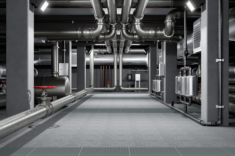 Image eaux chaudes sanitaires canalisation