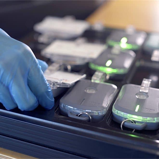 image de la batterie wireless du tag personnel t-10R