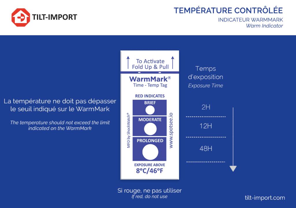 image de la carte d'accompagnement de l'indicateur de température warmmark