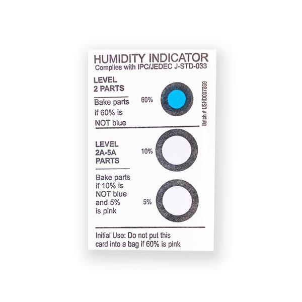 image de la carte indicatrice d'humidité 5-10-60%