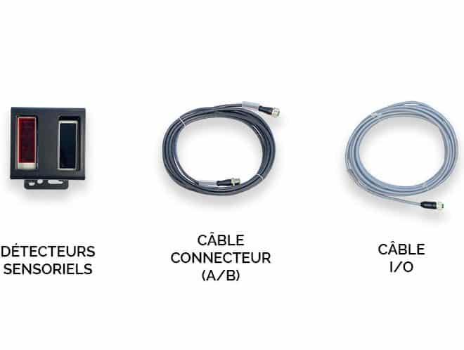 image des composants du kit du limiteur automatique de vitesse LSA