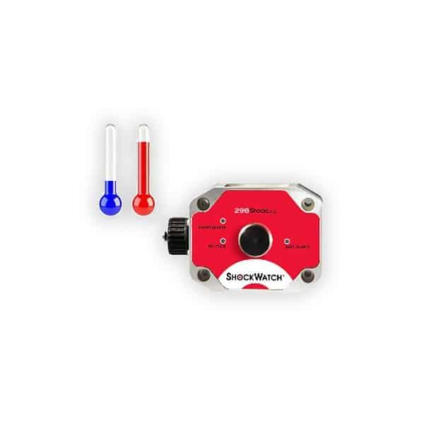 image de l'enregistreur de choc et température shocklog