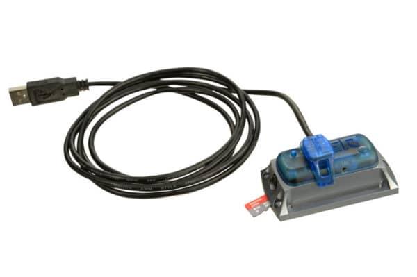 photo de l'enregistreur de choc électronique MSR 165 avec Clip