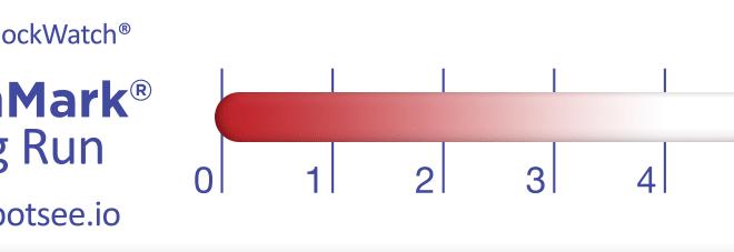 image de l'indicateur de température warmmark long run déclenché