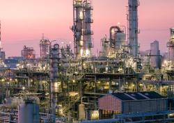 Pétrole et gaz : Usine