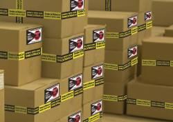 Emballage : Indicateur de choc sur emballage