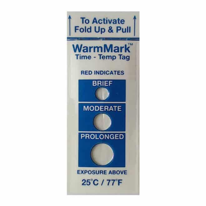 Indicateur de température non réutilisable