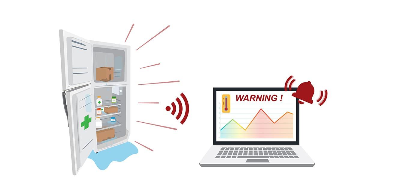 Enregistreur de température radio