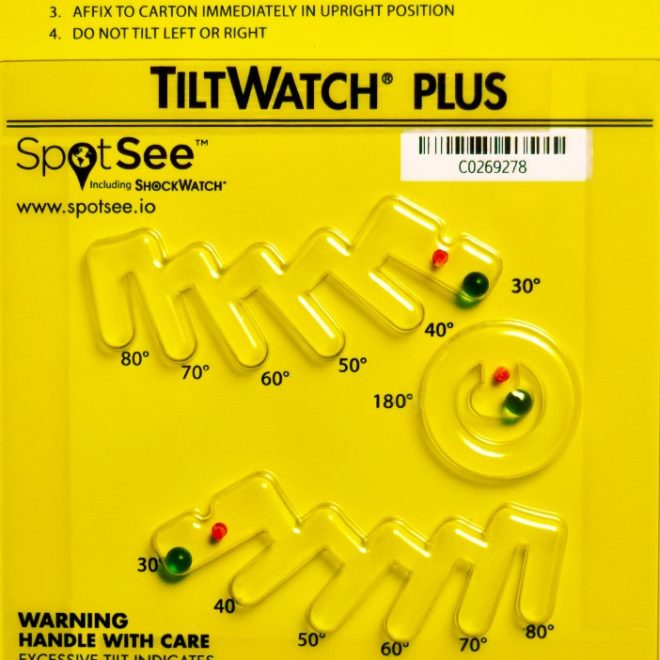 indicateur d'inclinaison tiltwatch-plus