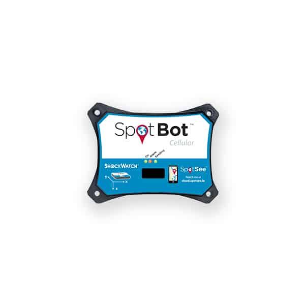 image de l'enregistreur de choc connecté Spotbot