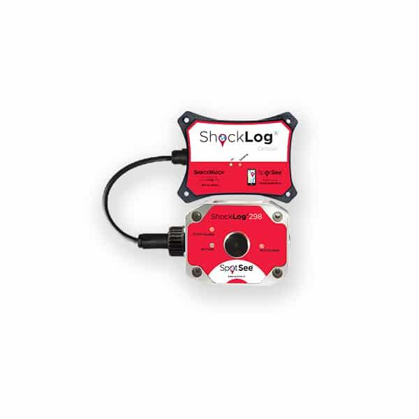 image de l'enregistreur de choc géolocalisé Shocklog Cellular