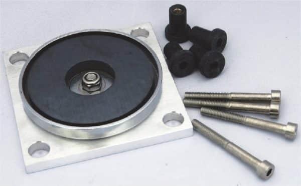 image plaque de fixation magnétique pour enregistreur de choc shocklog 248