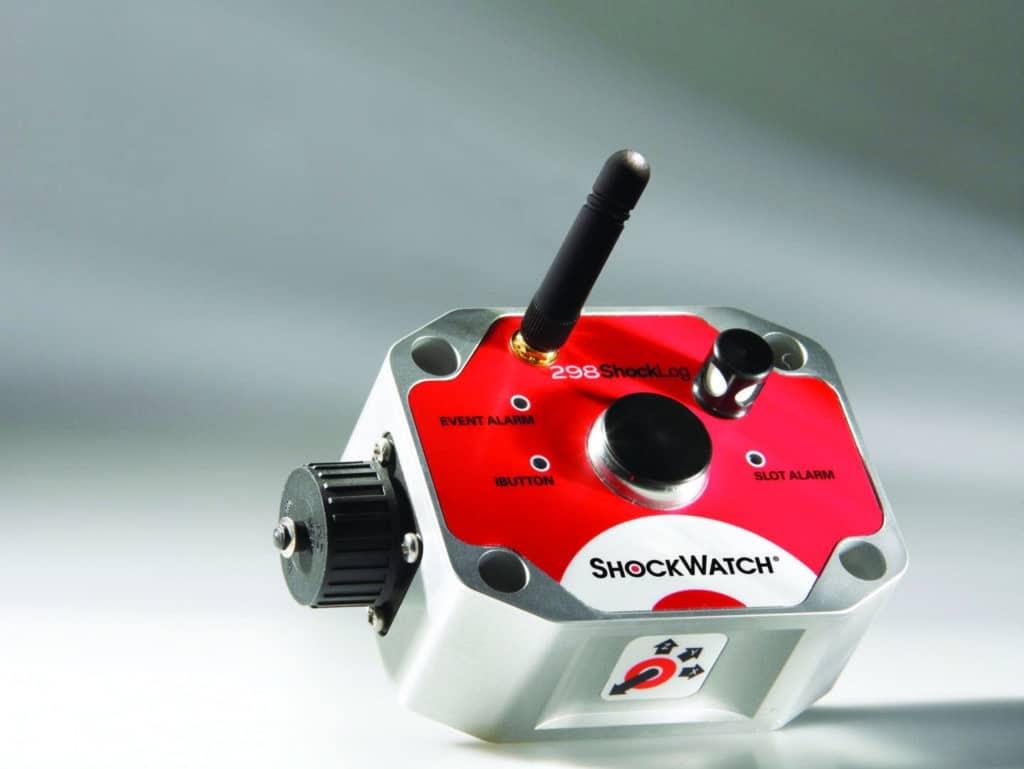 GPS enregistreur de choc électronique Shocklog 298