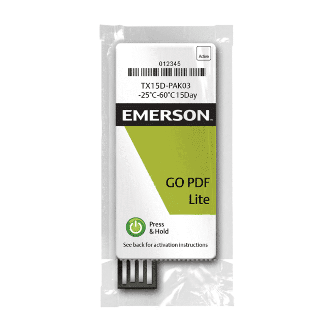 Enregistreur de température USB GO PDF Lite