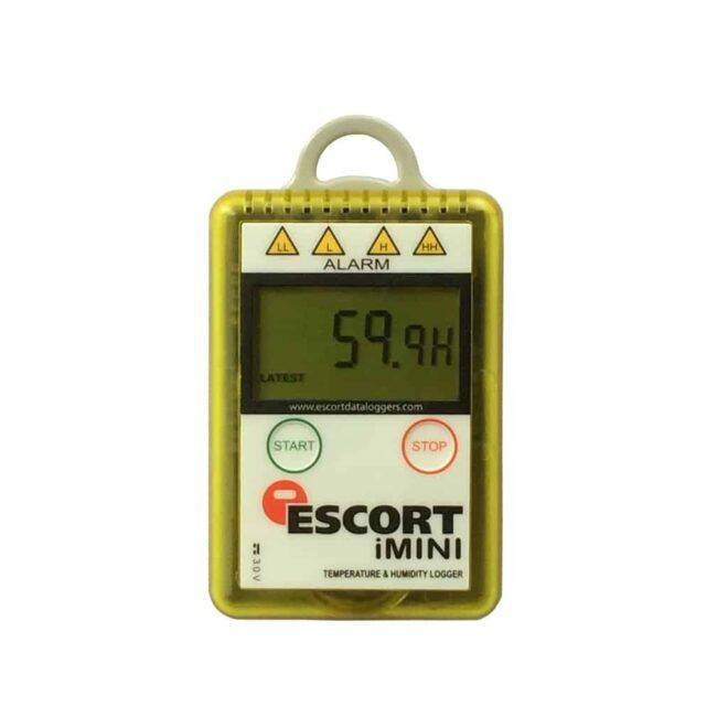 Mini enregistreur de température et humidité Escort iMINI