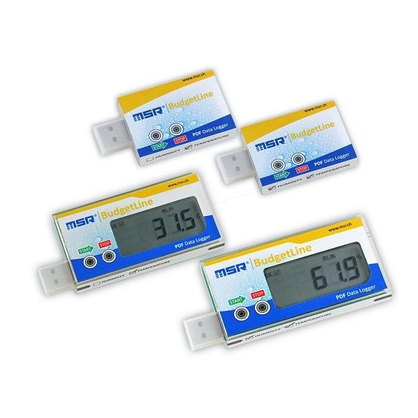 Enregistreurs température MSR BudjetLine