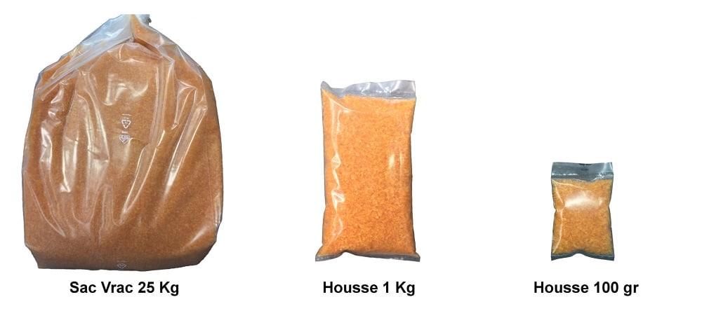 image des différents sachets déshydratants gel de silice