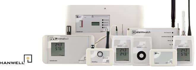 Enregistreur de température Radio Hanwell Pro