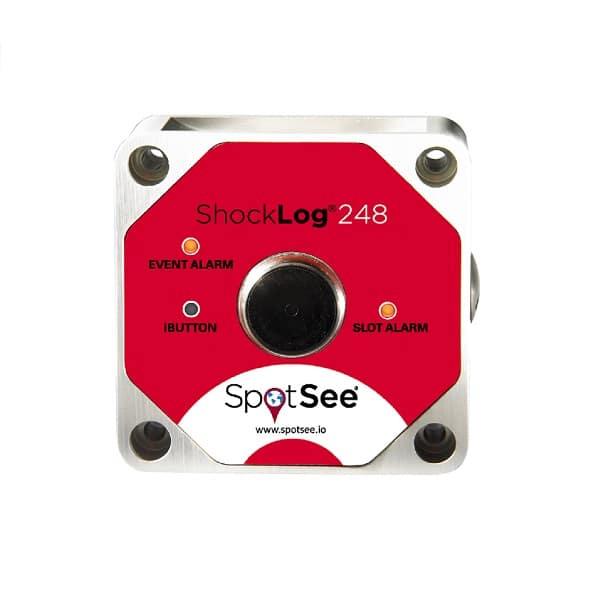 Enregistreur de choc électronique Shocklog 248