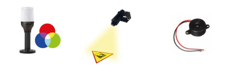 image des accessoires système évitement de collision cas g2