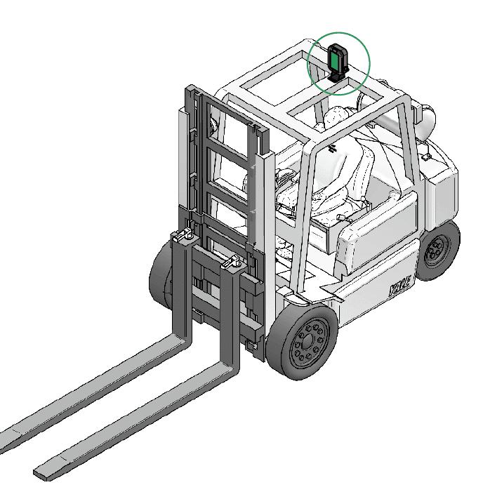 illustration système évitement de collision cas g2 sur chariot